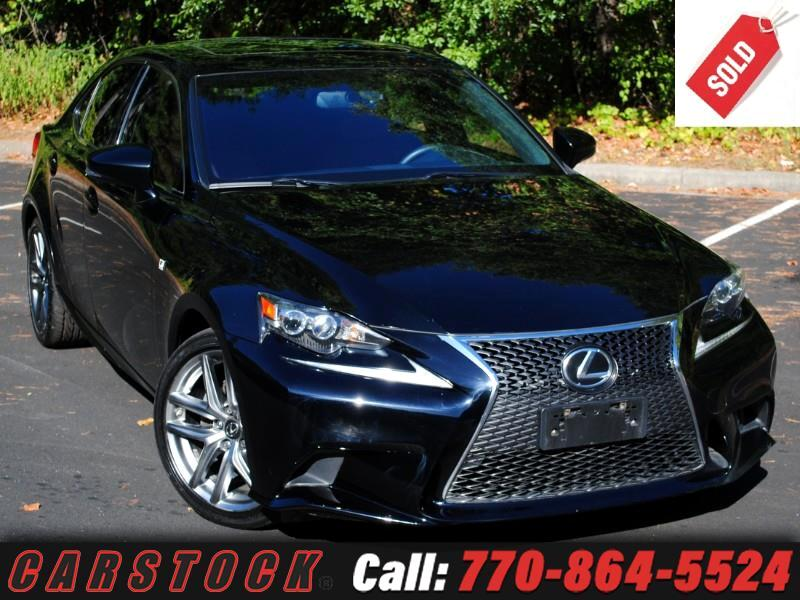 2014 Lexus IS 250 F Sport AWD Premium w/ Navigation