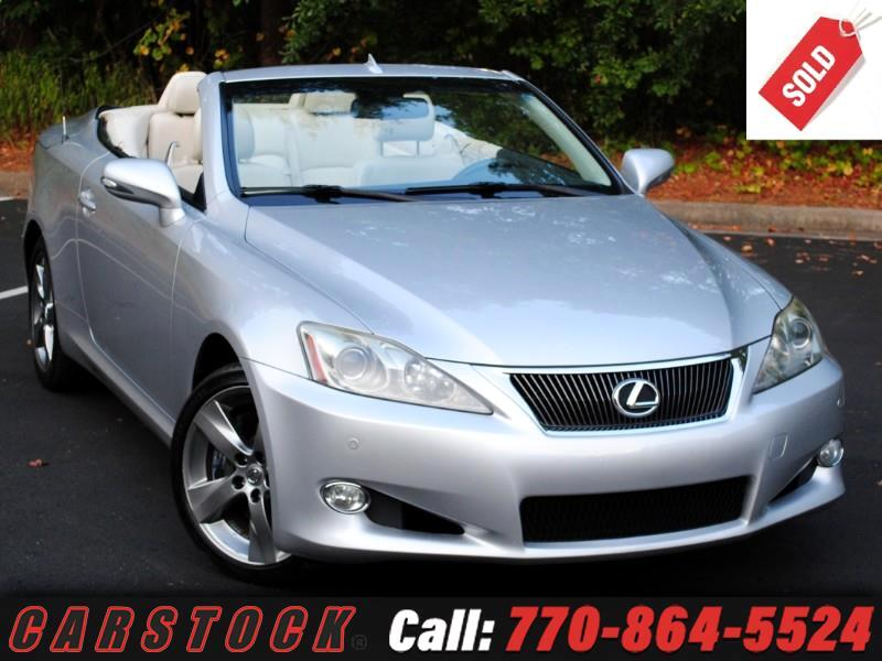 2010 Lexus IS C 350 Luxury w/ Navigation