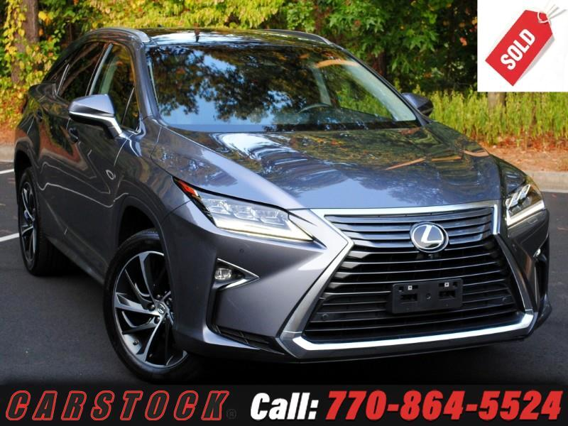 2016 Lexus RX 350 ULTRA LUX Safety+ Nav Mark Lev Pano Roof HUD 360 C