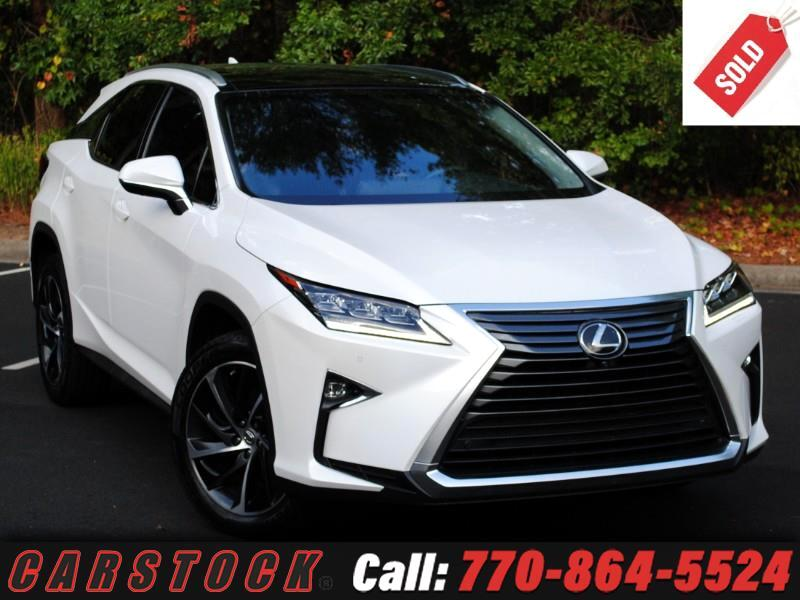 2017 Lexus RX 350 ULTRA LUX AWD Safety+ w/Nav HUD Mark Lev Pano Roof