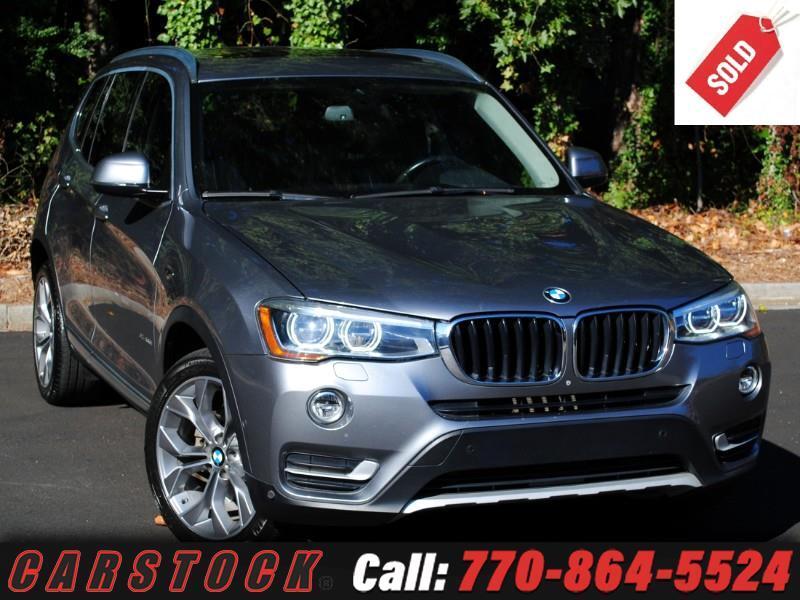 2015 BMW X3 xDrive35i Driver Assist Pano Roof HUD 360 Cam
