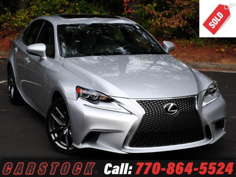 2015 Lexus IS 250 F Sport Premium w/ Navigation BSM
