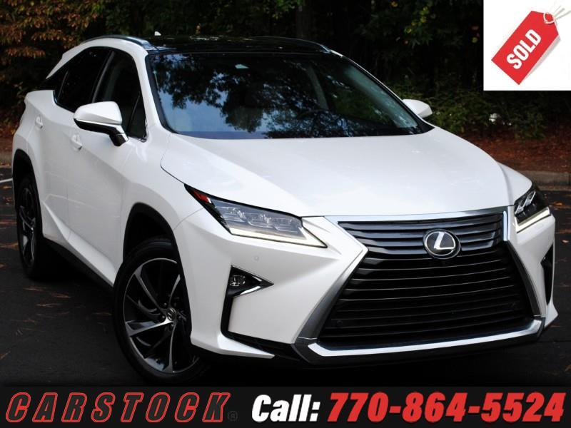 2016 Lexus RX 350 ULTRA LUX Safety+ Mark Lev HUD Pano Roof 360 Cam