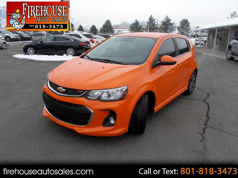 2017 Chevrolet Sonic RS Auto 5-Door