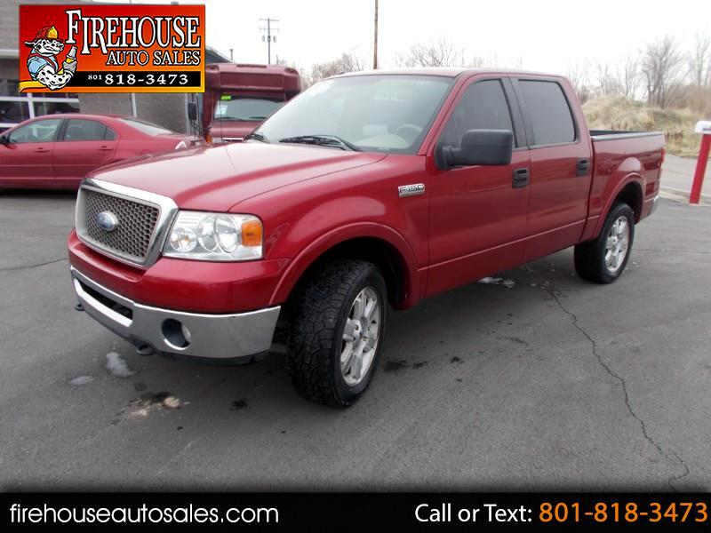 "2007 Ford F-150 4WD SuperCrew 139"" Lariat"