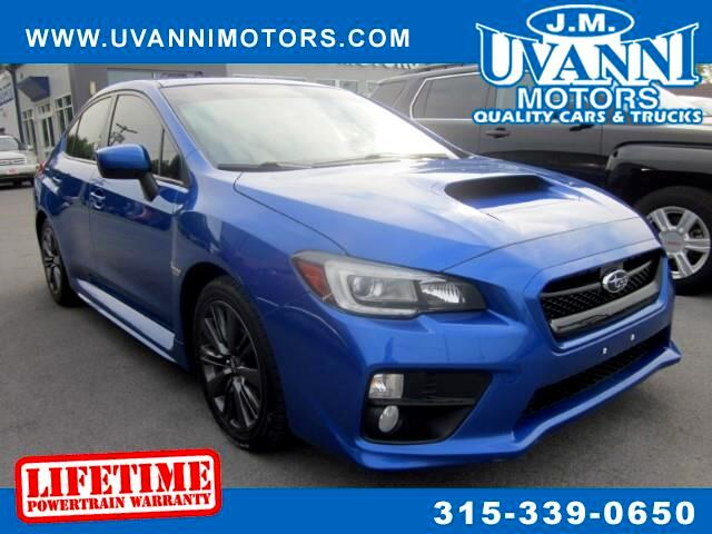 2015 Subaru WRX Limited 4-Door