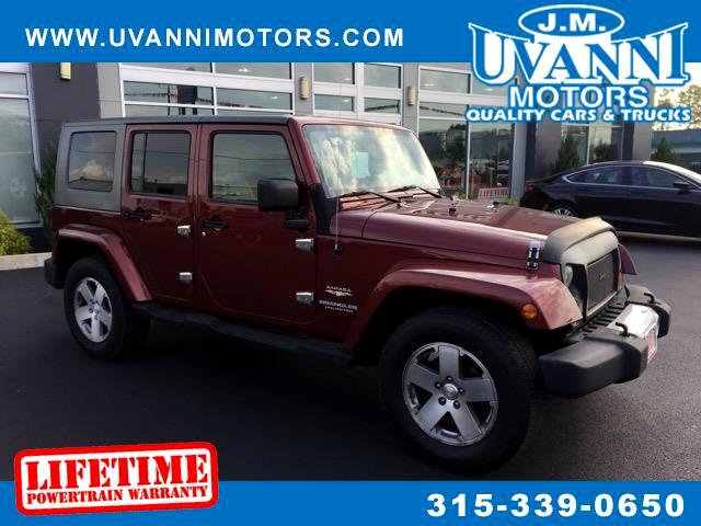 2008 Jeep Wrangler Unlimited 4WD 4dr Wrangler X *Ltd Avail*