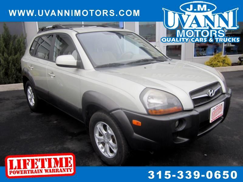 2009 Hyundai Tucson Limited 2.7 4WD
