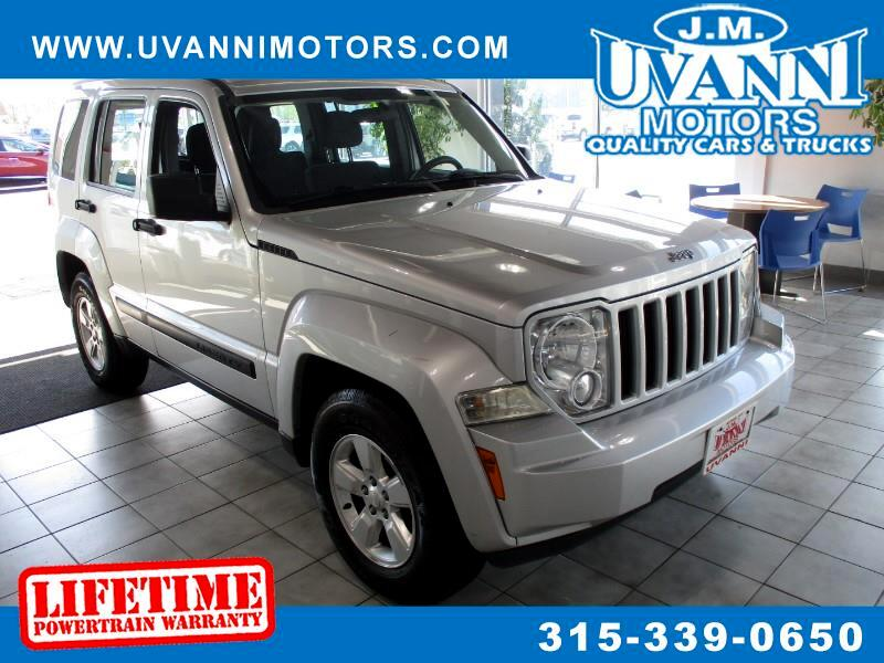 2012 Jeep Liberty 4dr Sport