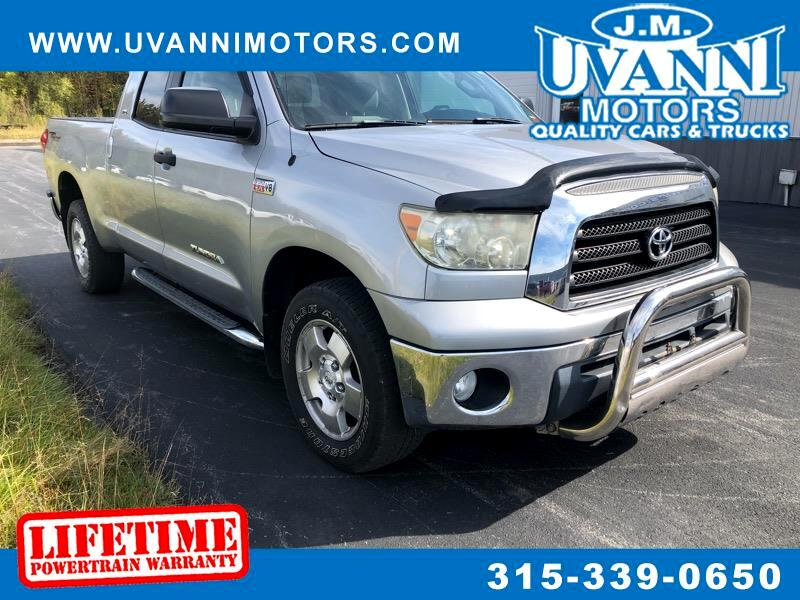 2007 Toyota Tundra SR5 5.7L V8 FFV Double Cab 4WD TRD OFF ROAD