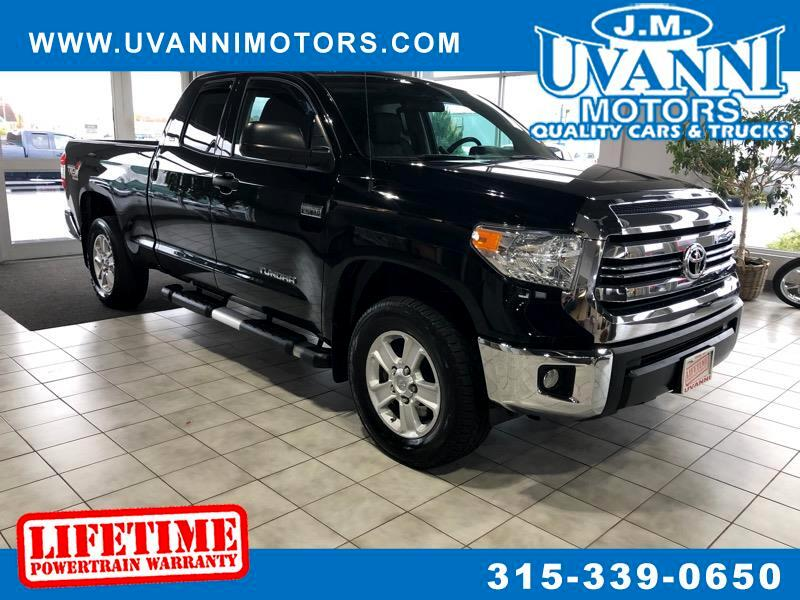2016 Toyota Tundra SR5 5.7 V8 Double Cab 4WD TRD OFF ROAD