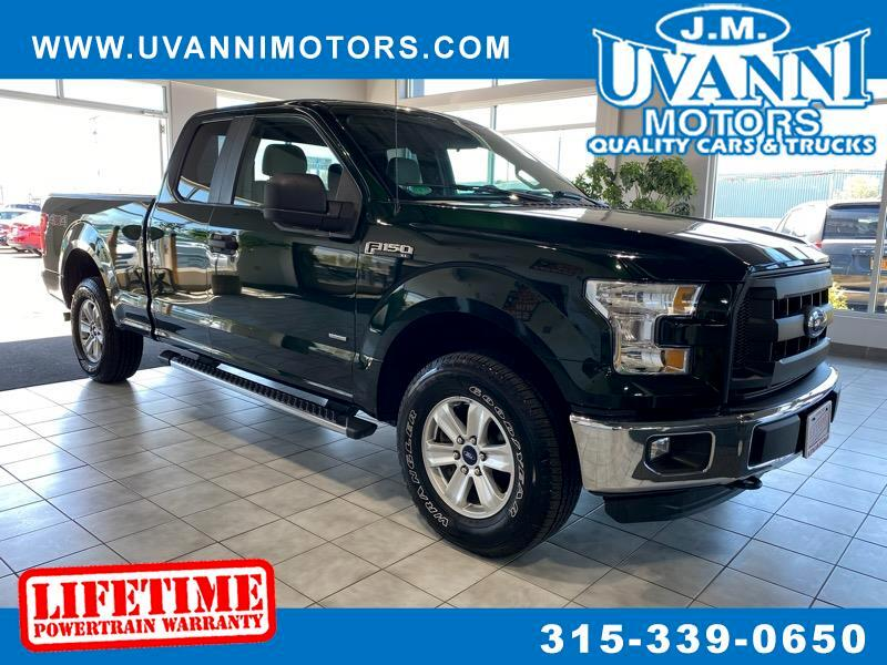 Ford F-150 XLT SuperCab Short Bed 4WD 2016