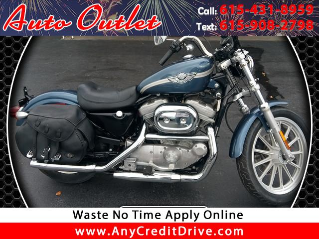 buy here pay here 2003 harley davidson xl 883 hugger for sale in nashville tn 37129 auto outlet. Black Bedroom Furniture Sets. Home Design Ideas