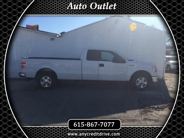 2014 Ford F-150 XLT 4WD SuperCab 8' Box