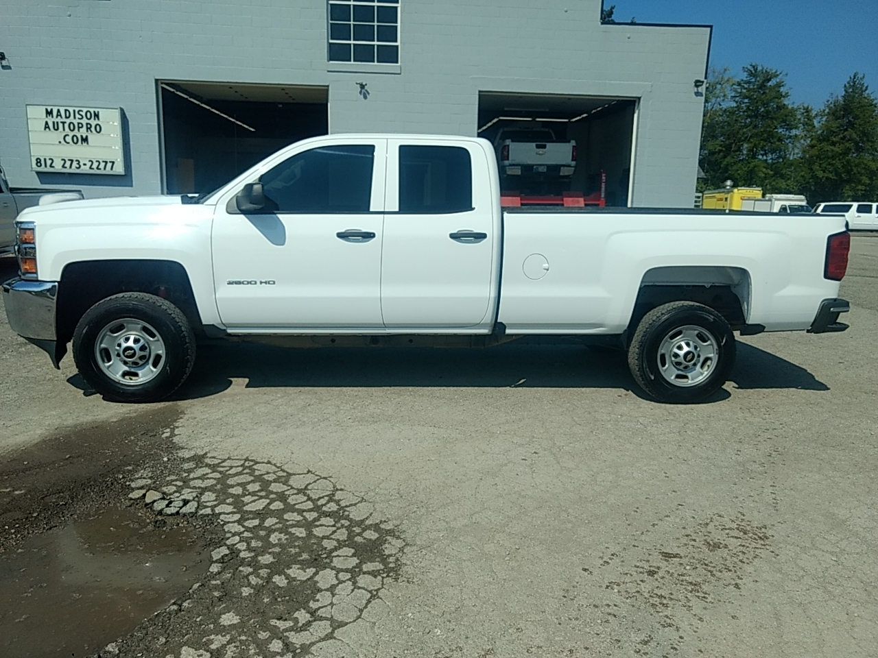 2016 Chevrolet Silverado 2500HD Work Truck Double Cab 4WD