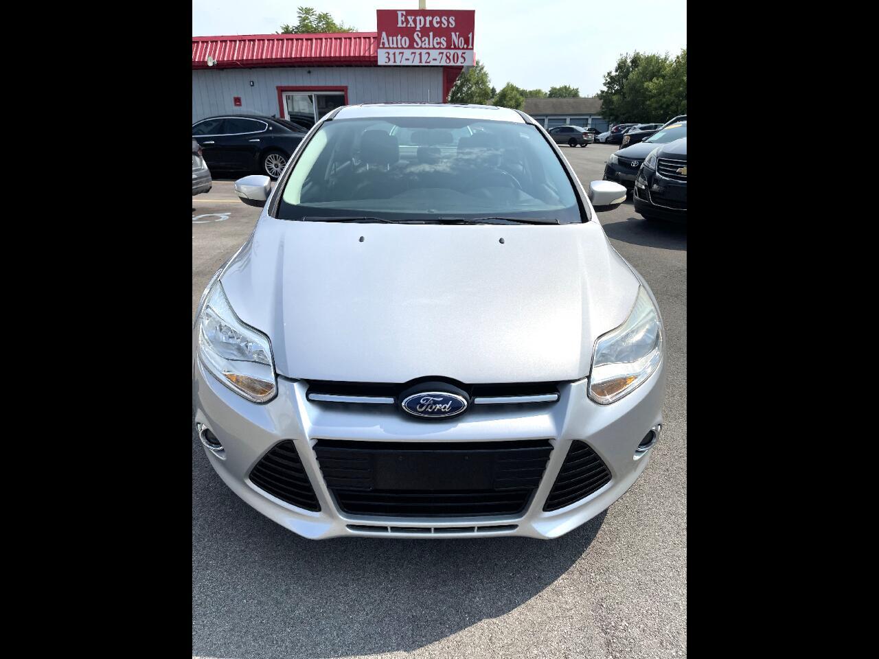 Ford Focus SEL Sedan 2012