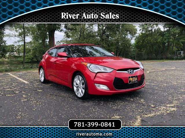 2012 Hyundai Veloster 3dr Cpe Auto RE:FLEX w/Red Int