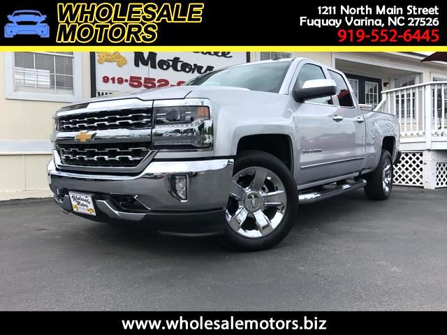 2016 Chevrolet Silverado 1500 LTZ Double Cab Short Box 2WD