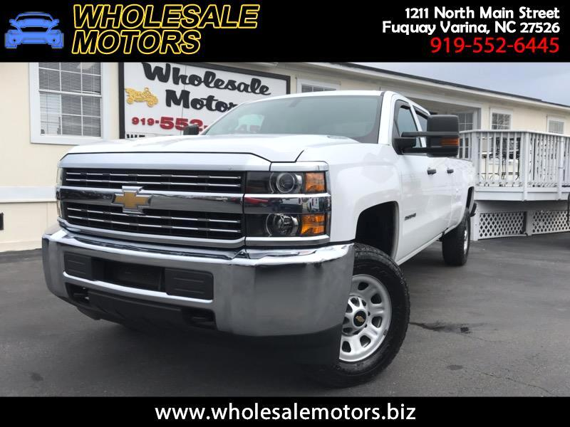 2016 Chevrolet Silverado 2500HD Work Truck Crew Cab Long Box 4WD
