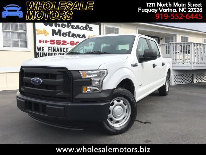 2015 Ford F-150 XL SuperCrew 6.5-ft. Bed 2WD