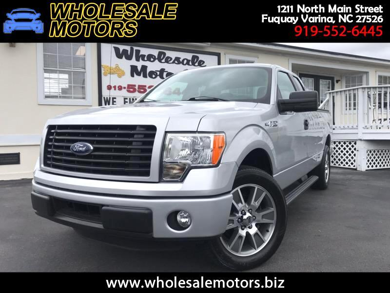 2014 Ford F-150 STX SuperCab 6.5-ft. Bed 2WD