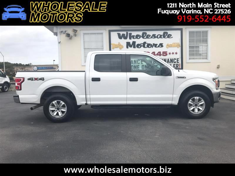 "Ford F-150 4WD SuperCrew 150"" XL 2018"
