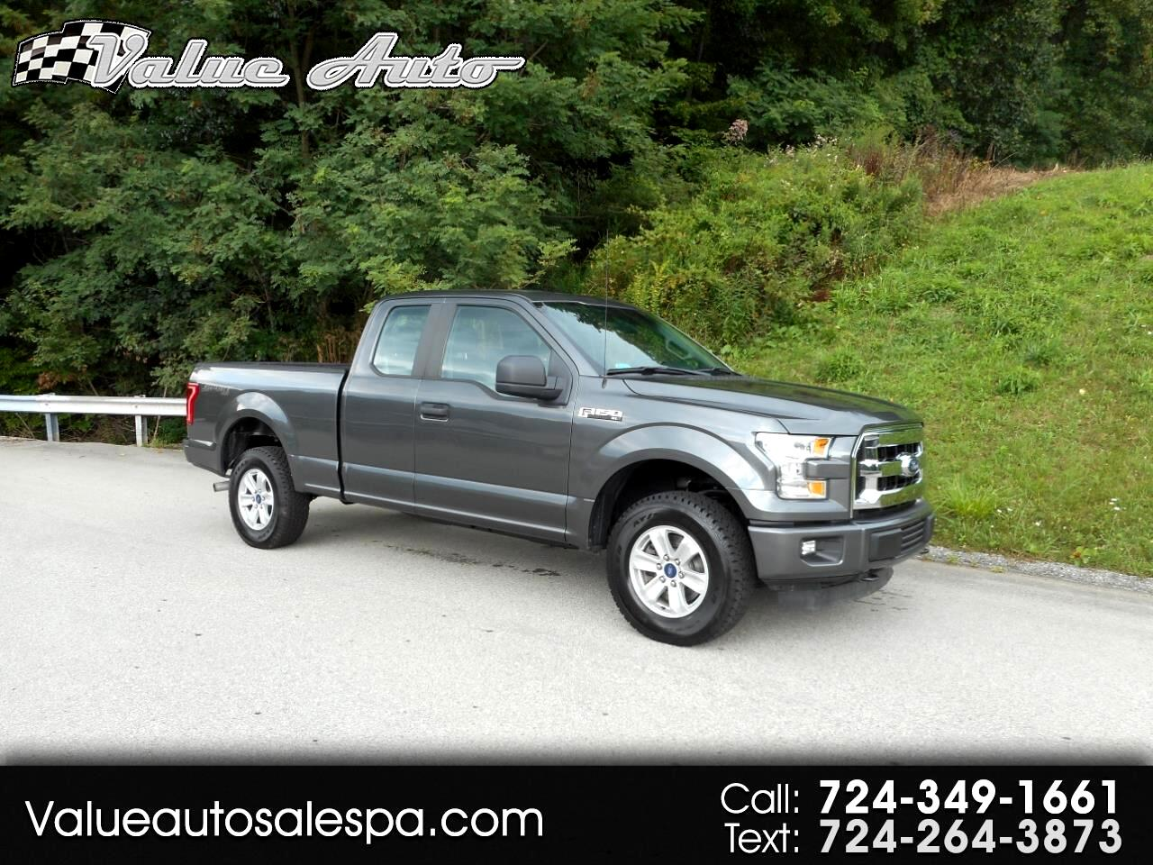 2016 Ford F-150 SPORT Super Cab 4x4
