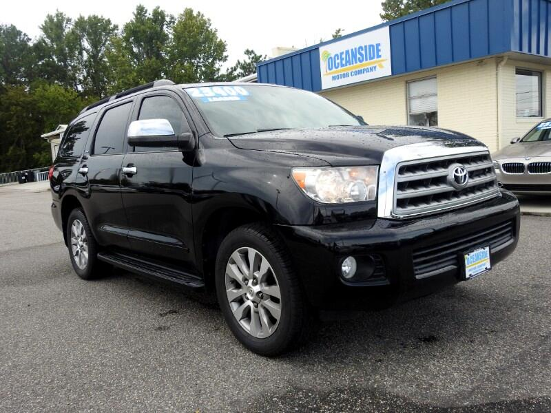 2011 Toyota Sequoia Limited 4WD FFV