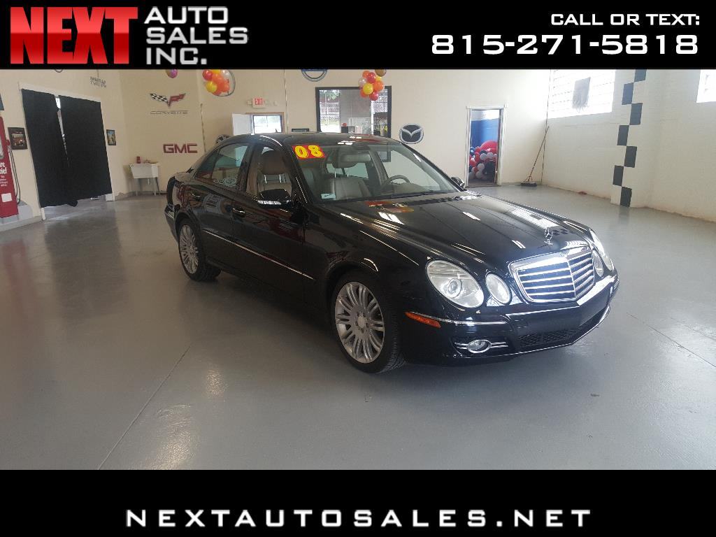 2008 Mercedes-Benz E-Class 4dr Sdn Luxury 3.5L 4MATIC
