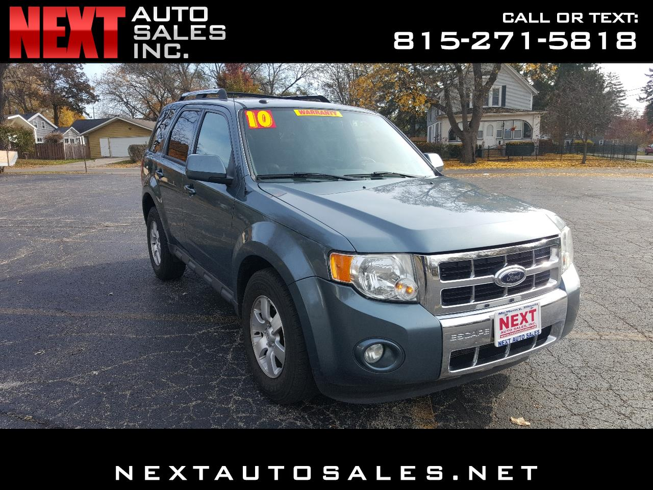 2010 Ford Escape 4WD 4dr Limited