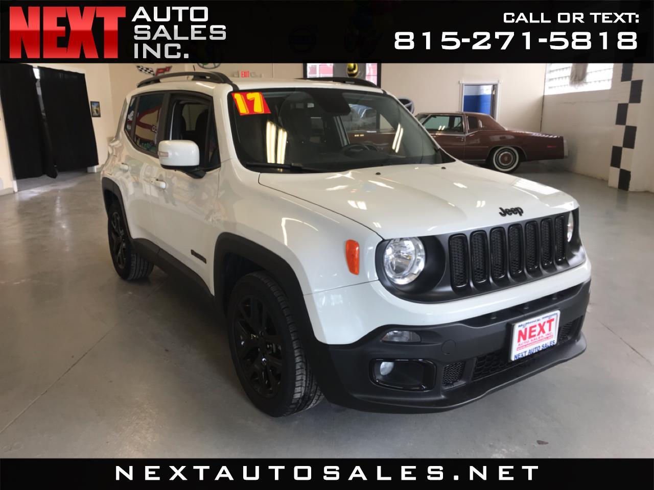 2017 Jeep Renegade Altitude FWD