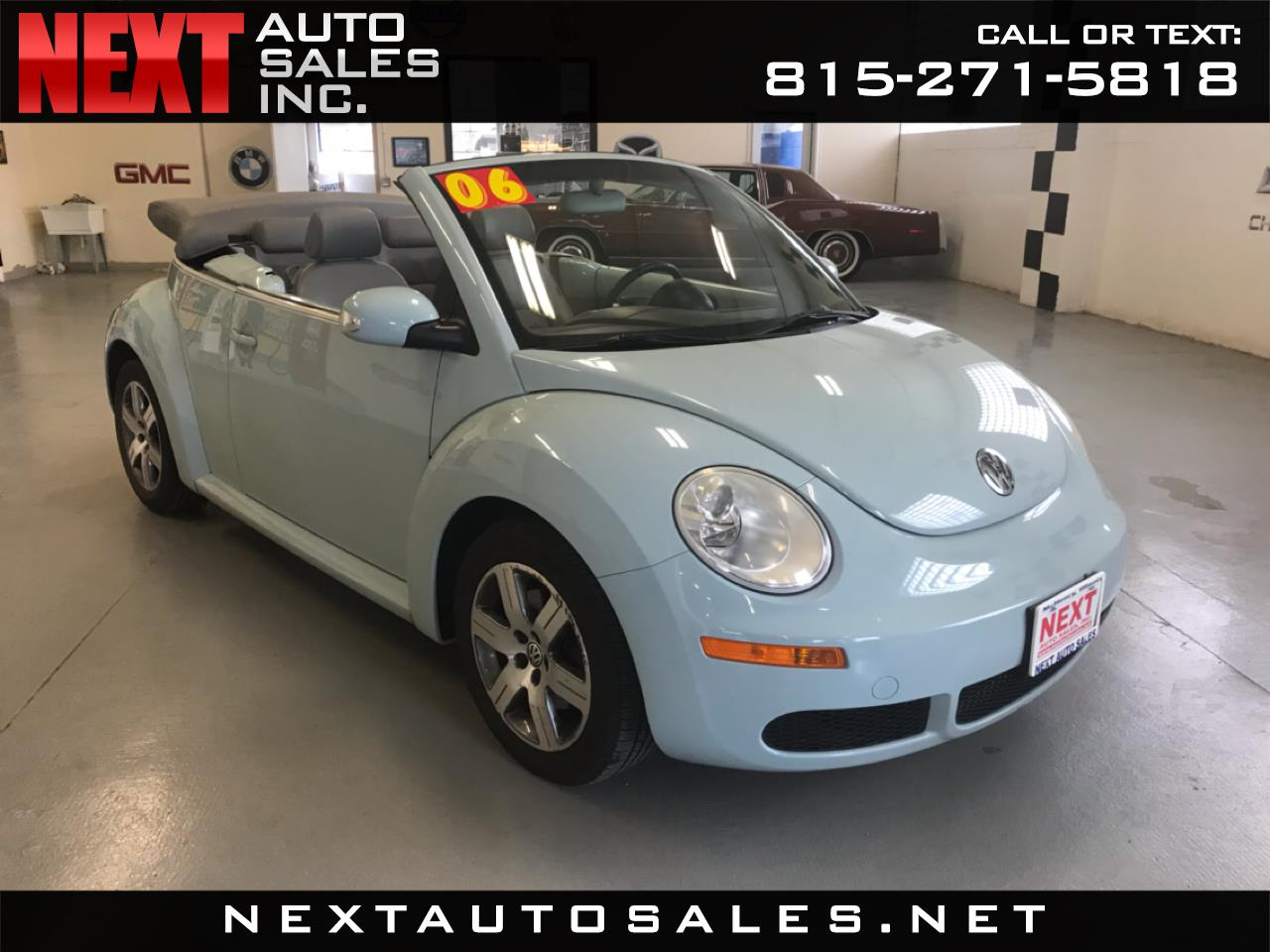 2006 Volkswagen New Beetle Convertible 2dr 2.5L Manual