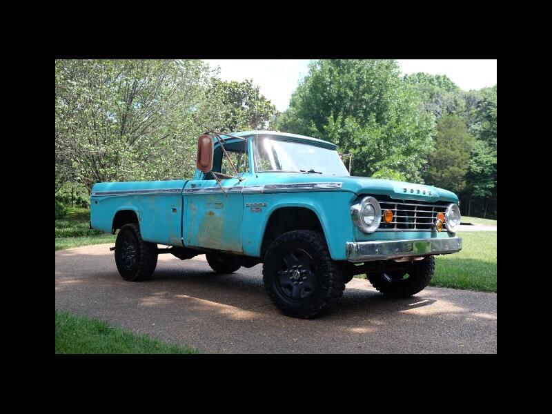 1967 Dodge Power Wagon 4x4