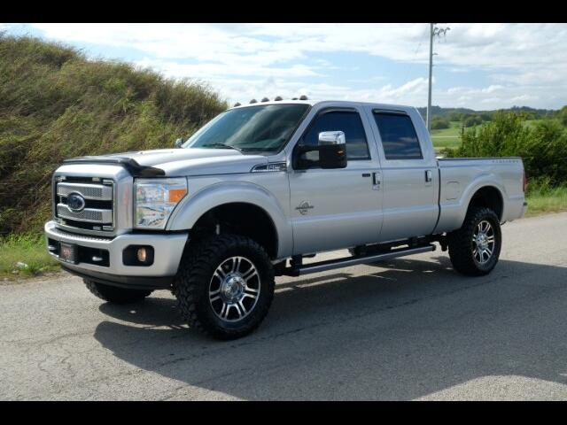 2014 Ford F-250 SD Lariat Crew Cab Platinum Edition