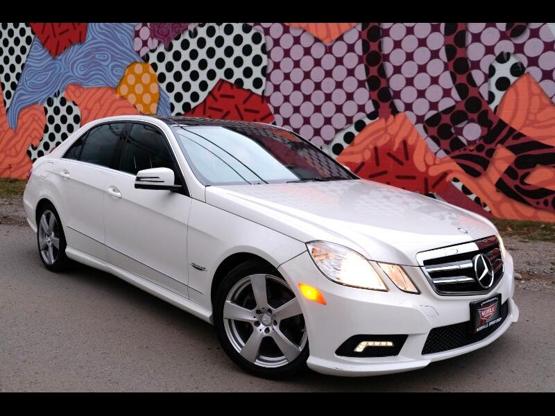 2011 Mercedes-Benz E-Class E350 Sport Edition