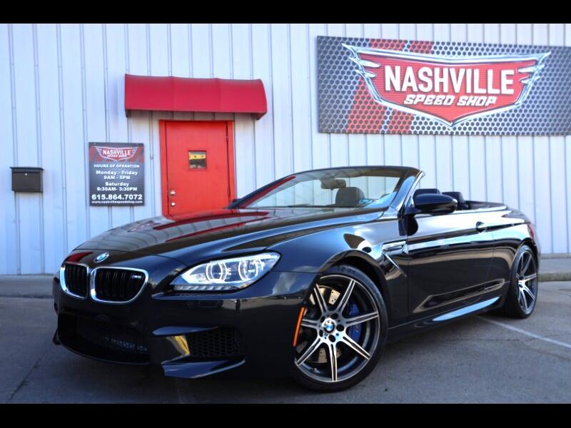 BMW M6 Convertible 2015