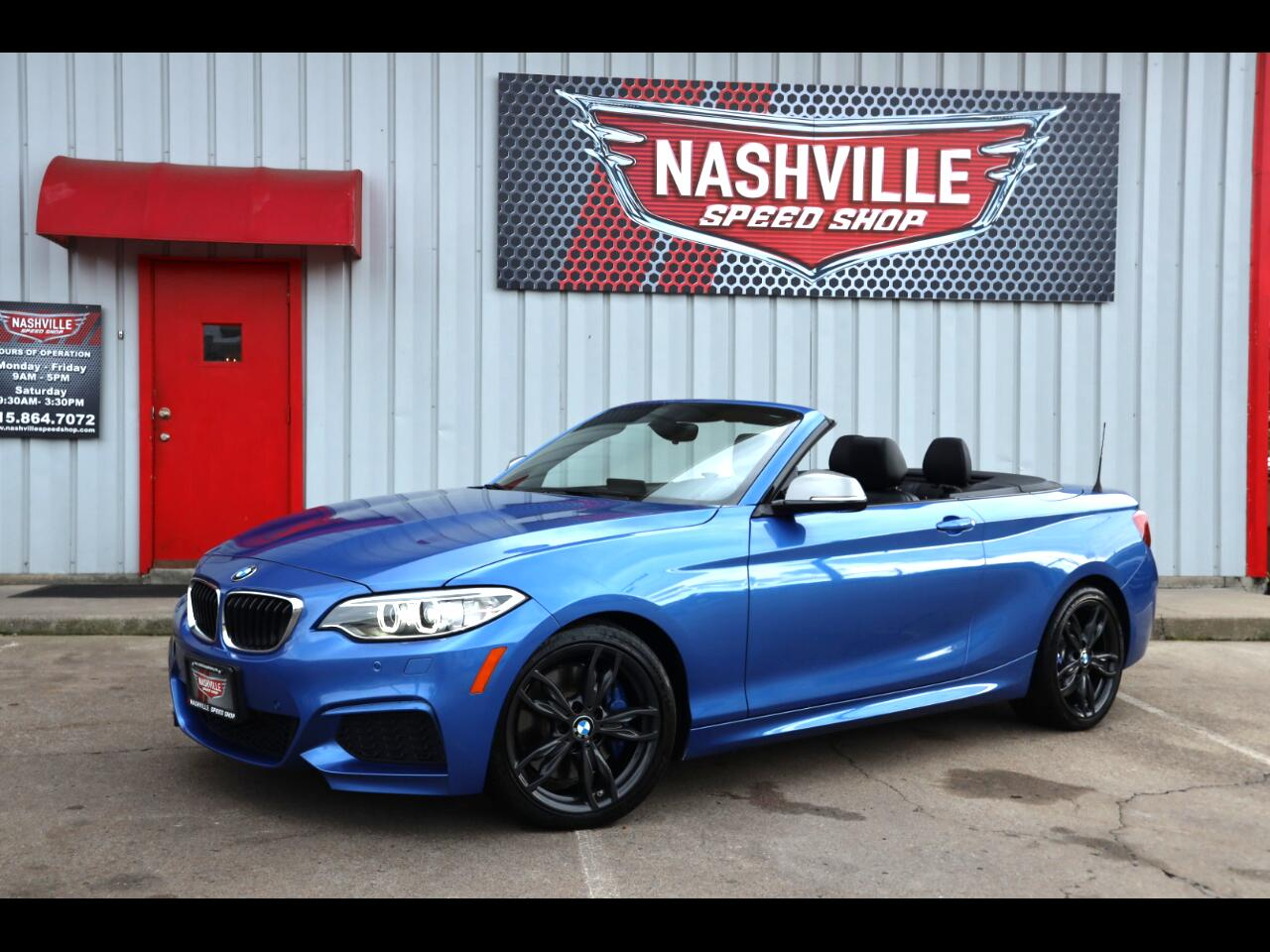BMW 2 Series M240i xDrive Convertible 2017