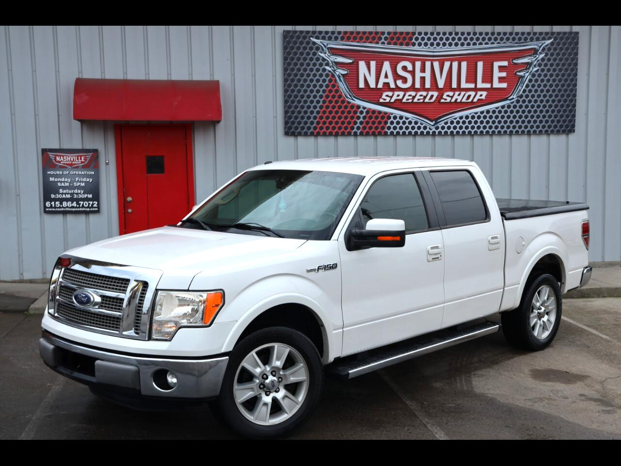 "Ford F-150 2WD SuperCrew 145"" Lariat 2011"