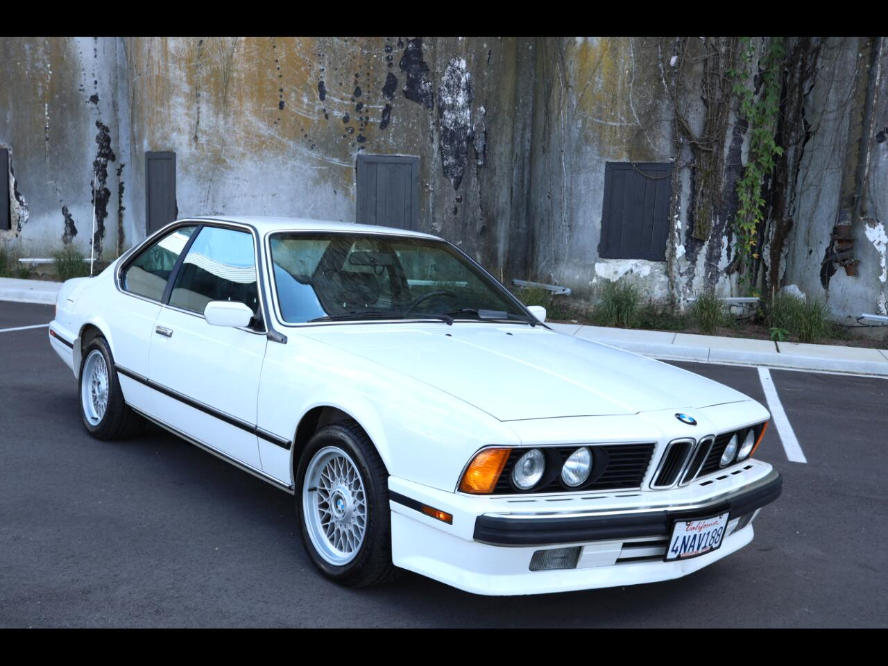 BMW 6 Series 2dr Coupe 635CSi 1989