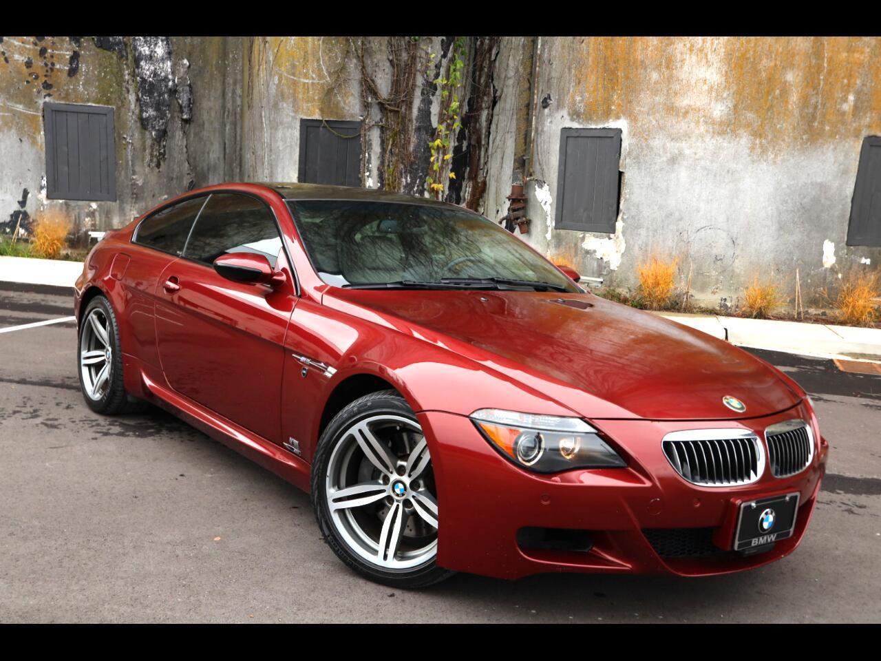 BMW 6 Series 2dr Cpe M6 2007
