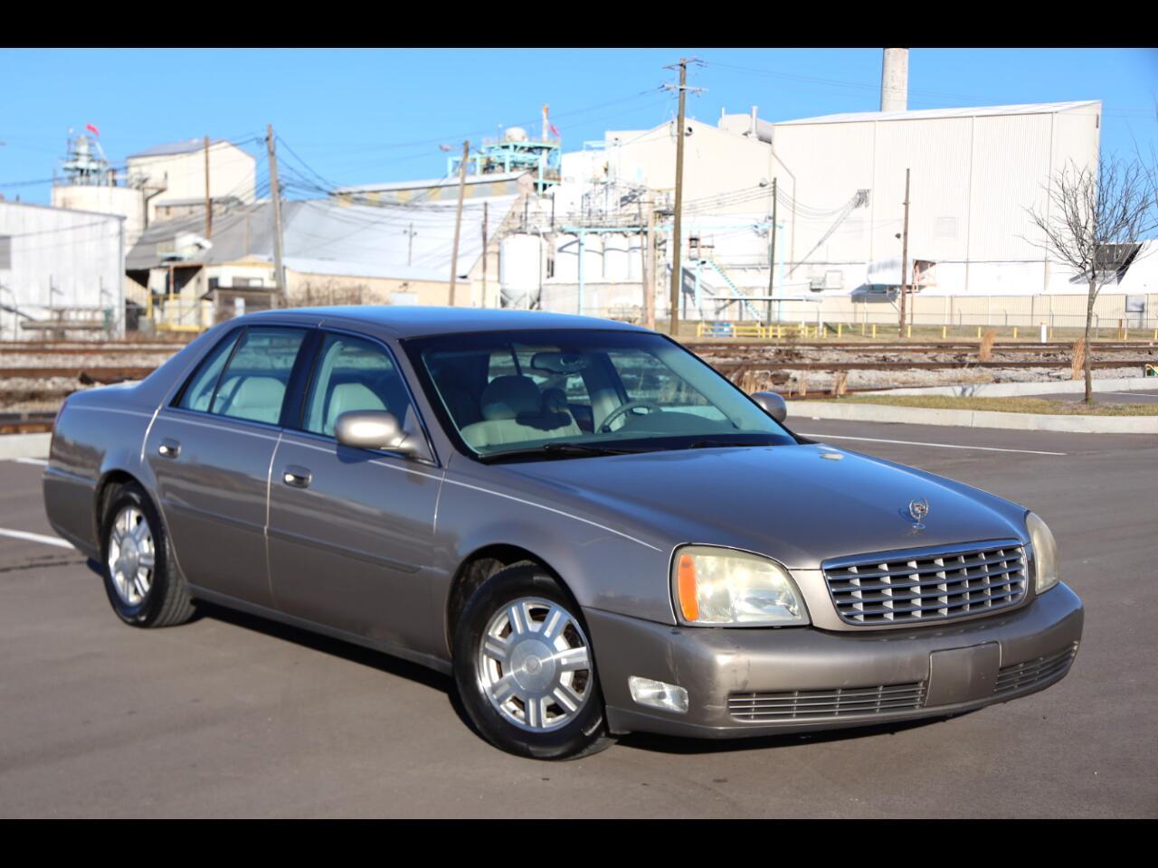 Cadillac DeVille 4dr Sdn 2004