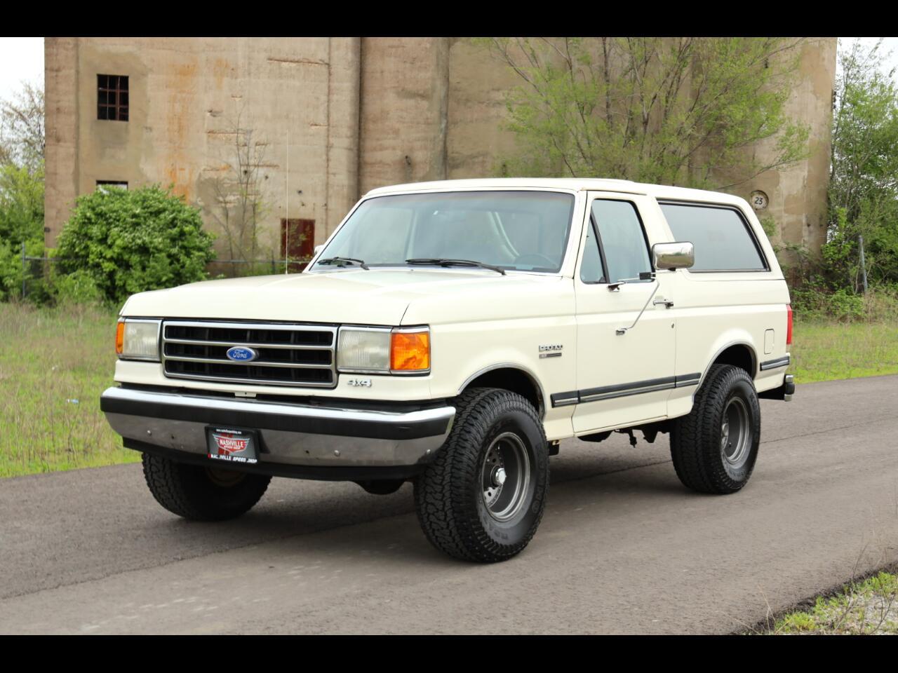 Ford Bronco 2dr Wagon 1990