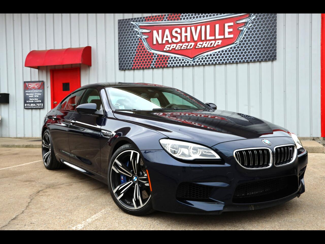 BMW M6 Gran Coupe 2017