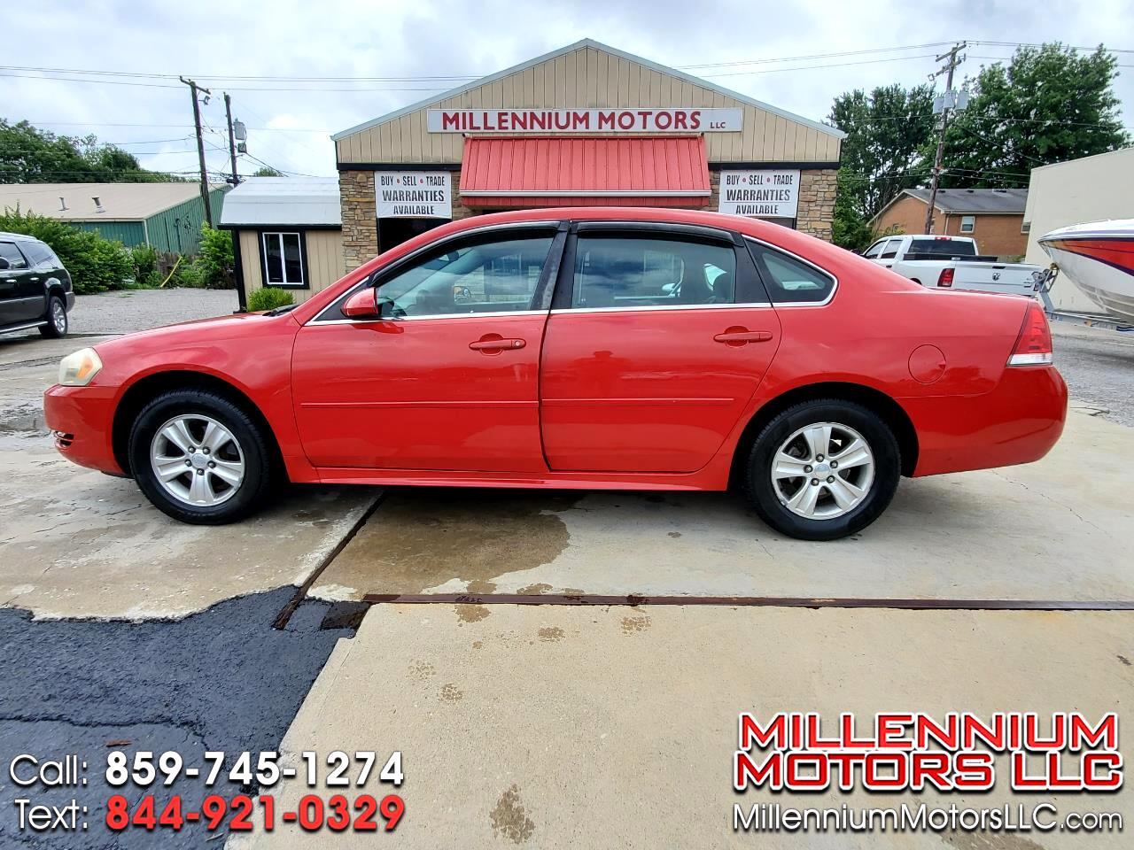Chevrolet Impala LS (Fleet) 2012