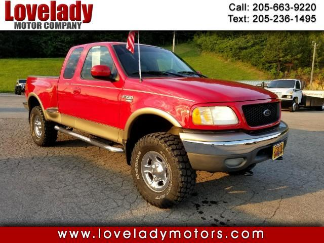 2002 Ford F-150 Lariat SuperCab Flareside 4WD