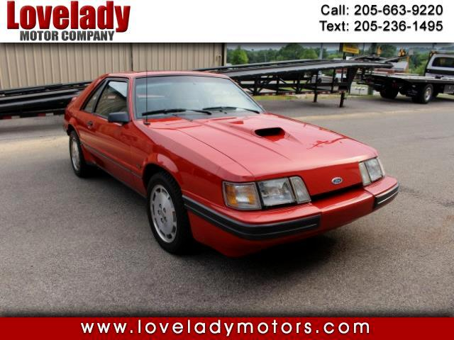 1986 Ford Mustang SVO 3-Door Runabout