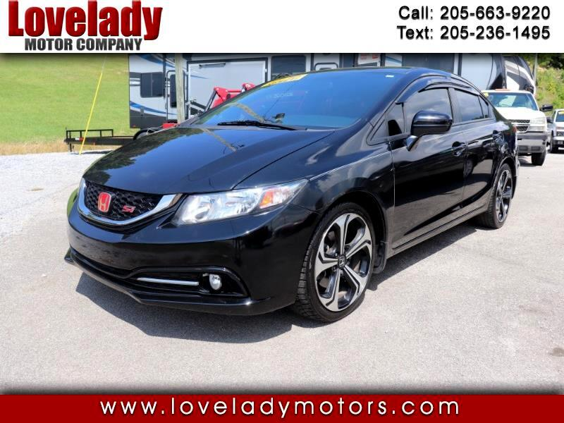 Honda Civic Si Sedan 6-Speed MT 2015