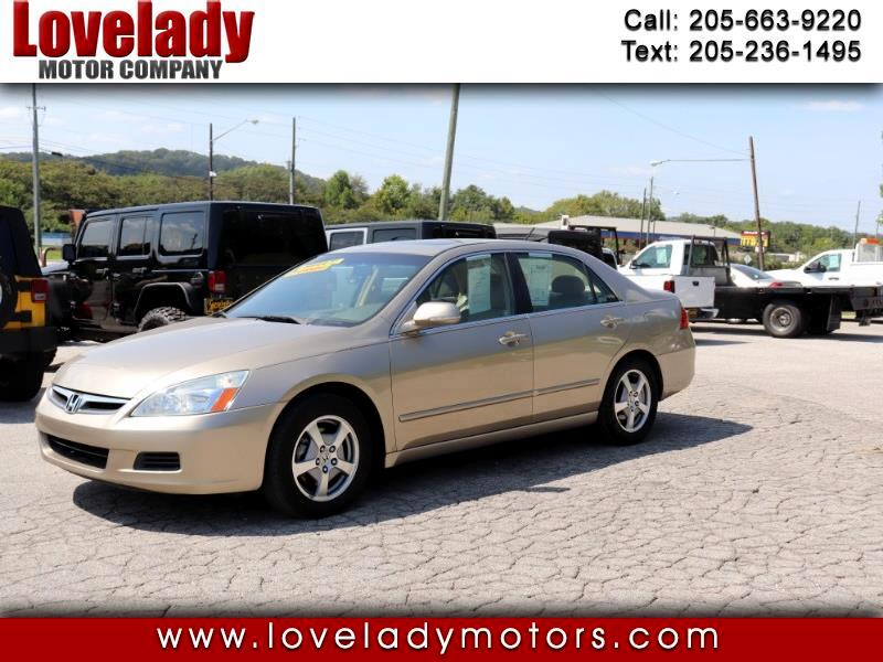 Honda Accord Hybrid 5-Speed AT with Navigation System 2007
