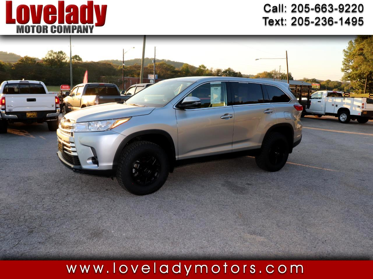 Toyota Highlander LE Plus AWD V6 2019