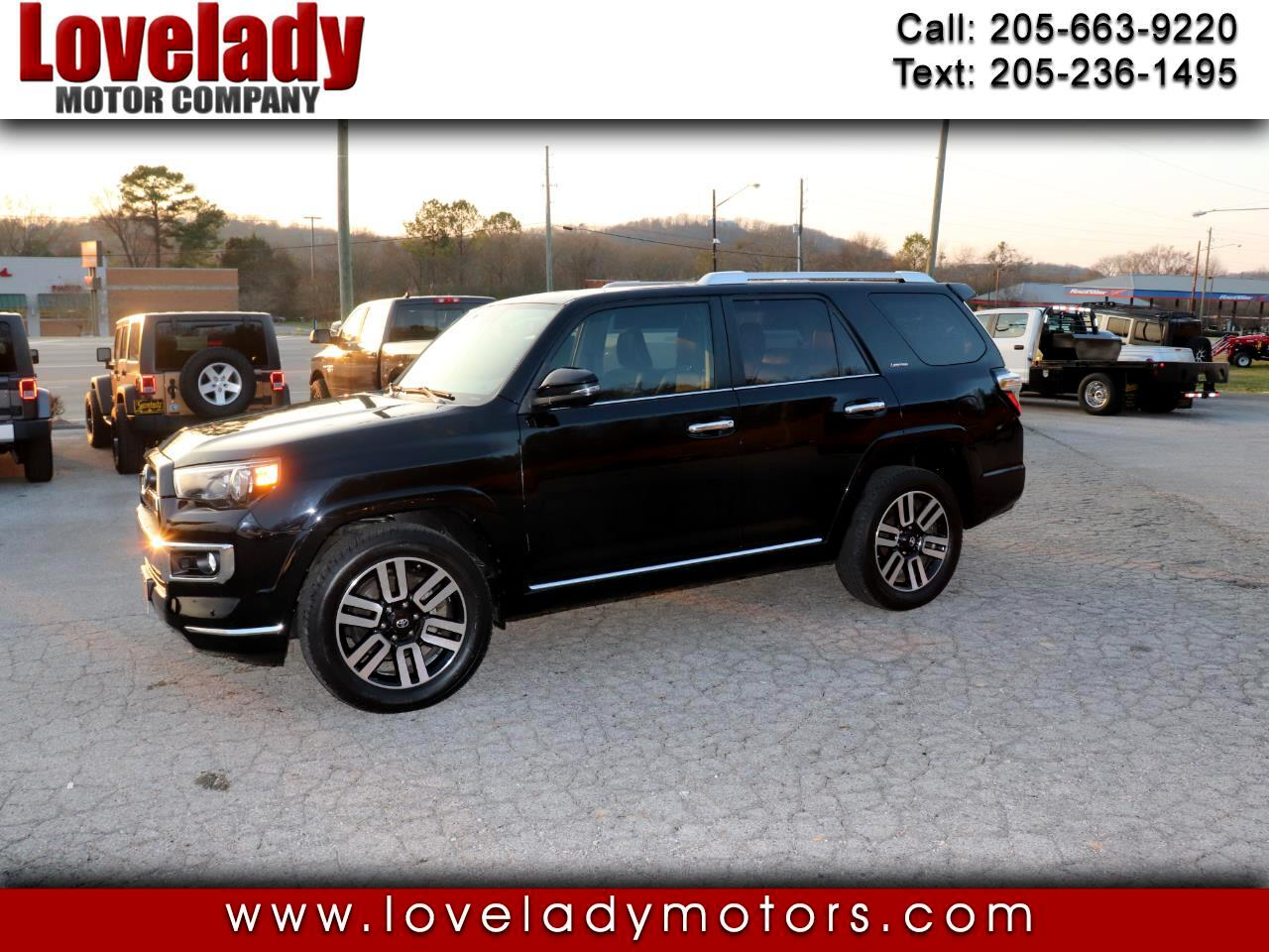 Toyota 4Runner Limited V6 2WD 2016